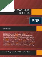 HALF WAVE DIODE RECTIFIRE.pptx
