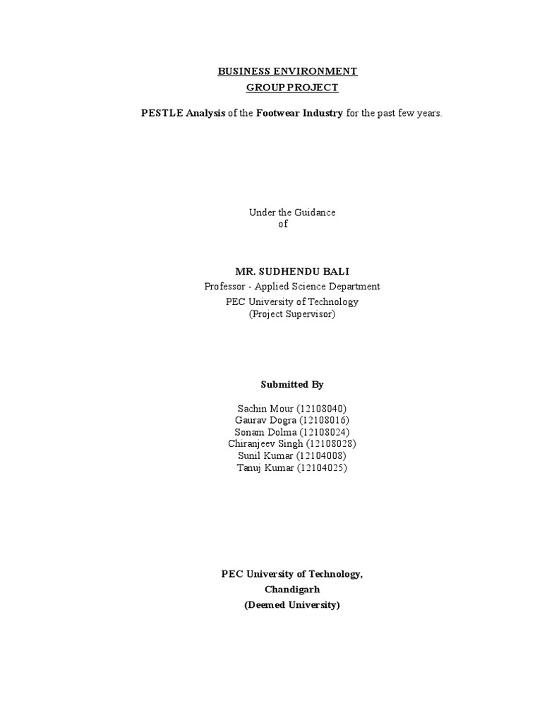pestle analysis of indonesia 2017 pdf