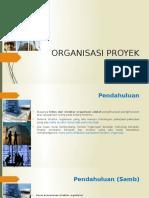 3. ORGANISASI PROYEK