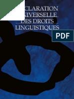 Déclaration universelle des droits linguistiques