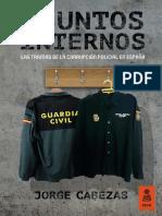 """""""Asuntos Internos"""", Jorge Cabezas (Kailas Editorial)"""