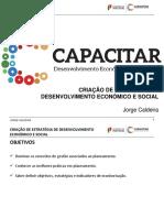 Programa Capacitar - Criação de Estratégia de Desenvolvimento Económico e Social