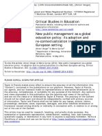 New public management as a global education policy