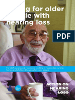 Caring for Older People With Hearing Loss v7