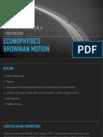 EKONOFISIKA Brownian Motion