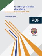 Mejoramiento del trabajo académico en la universidad pública