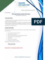 Proposta Formação Desenvolvedor Web Java 1
