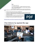 K2 Assignment - Uber
