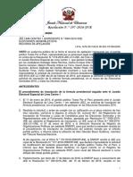 Resolución N° 000197-2016-JNE