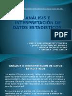 Exposición Analisis e Interpretacion de Datos Estaditicos