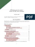 orale pour les concours français