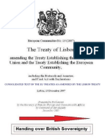 Lisbon Treaty Summary