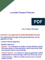 Reynolds Transport Theorem