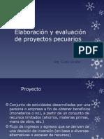 Elaboración y Evaluación de Proyectos Pecuarios