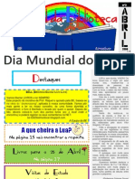 Jornal da Biblioteca - Abril 2008