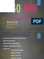 660 Mw Supercritical Boiler