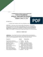 Pembroke STM Warrant