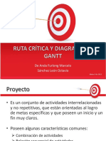 Ruta Crítica y Diagrama de Gantt