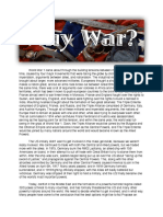 why war paper  1