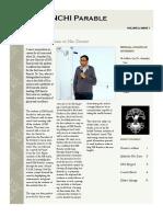 Parable - IIM Ranchi, November 2014