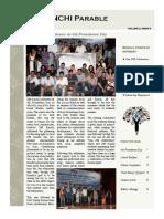Parable - IIM Ranchi, July 2015