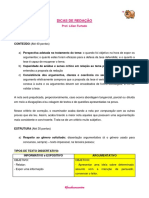 DICAS de REDAÇÃO - Professora Lilian Furtado (Foco)