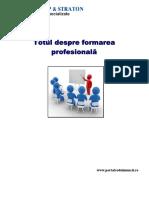 Formare profesionala