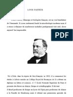 Research on Louis Pasteur