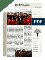 Parable - IIM Ranchi, May 2015