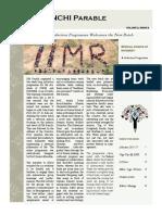 Parable - IIM Ranchi, June 2015