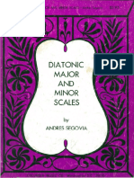 Andres Segovia - Diatonic Major and Minor Scales