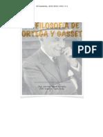 Filosofía de Ortega