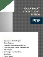 Solar Smart Street Light System