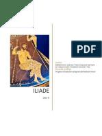 ILIADE di Omero - Libro terzo - Prove di traduzione interlineare con note grammaticali e vocabolario essenziale in linea