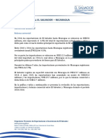 Perfil Comercial Nicaragua