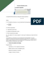 Calculos de La Potencia Comercial Del Dosificador