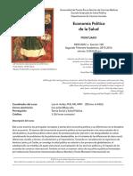 Economía Política de La Salud - Prontuario 2015 - 3A