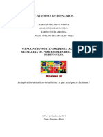Caderno de Resumos - Abraplip 2014 Completo Backup