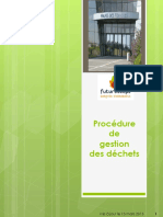 Procedure Gestion dechets