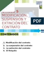 Fol 5 Modificacion Suspension y Extincion Contrato -2015.Pptx [Autoguardado]