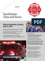 2016 Firefighters Exam