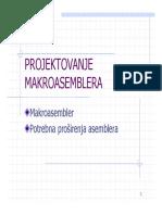 P1.2 Poglavlje 2 - Projektovanje Makroasemblera