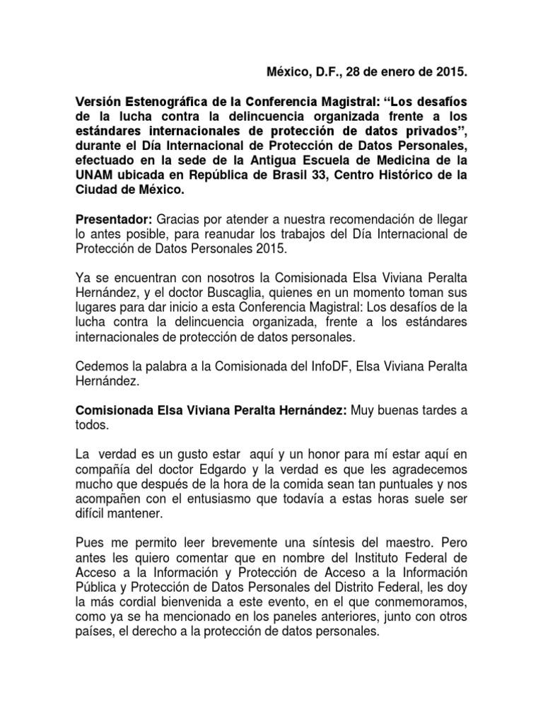 conferencia Dr. Edgardo Buscaglia