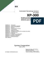 Analizador de Hematologia Xp-300