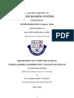 E-Bank project