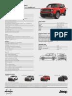 Ficha Jeep Renegade Sport