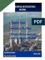 La Situacion Del Sector Electrico Nacional [Modo de Compatibilidad]
