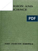 HARDWICK J. C.; WHITE D. — Religion and Science From Galileo to Bergson