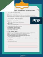 Checklist Para Agendamento de Uma Reunião