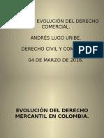 Andrés Lugo - Expo - Origen y Evolución Derecho Mercantil.